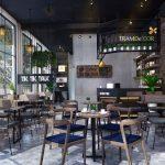 Xu hướng nội thất quán cà phê 2019