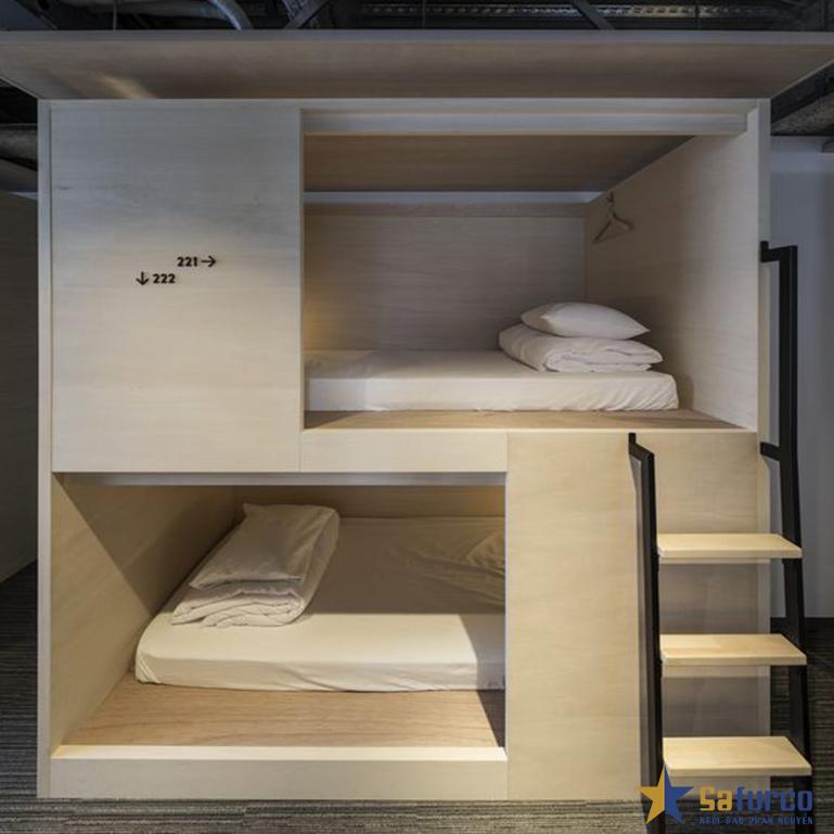 Giường tầng dạng hộp