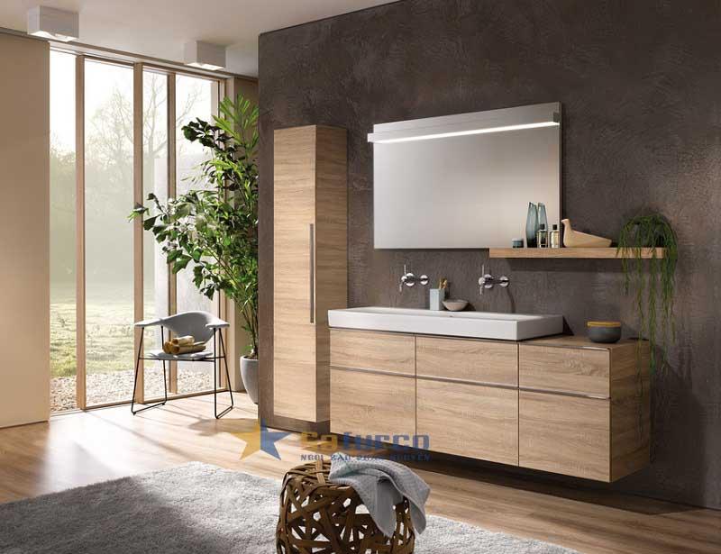 Thiết kế tủ gỗ với gam màu gỗ tự nhiên