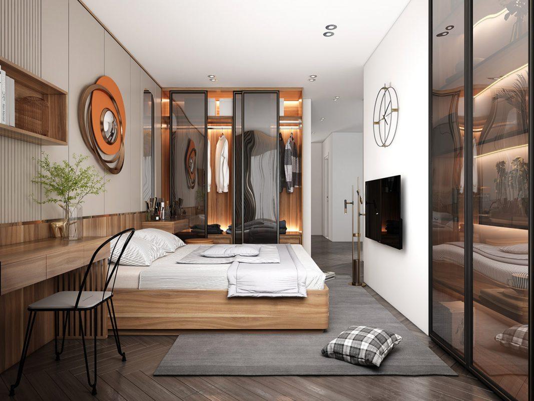 Mẫu thiết kế phòng ngủ master đẹp nhất 2021